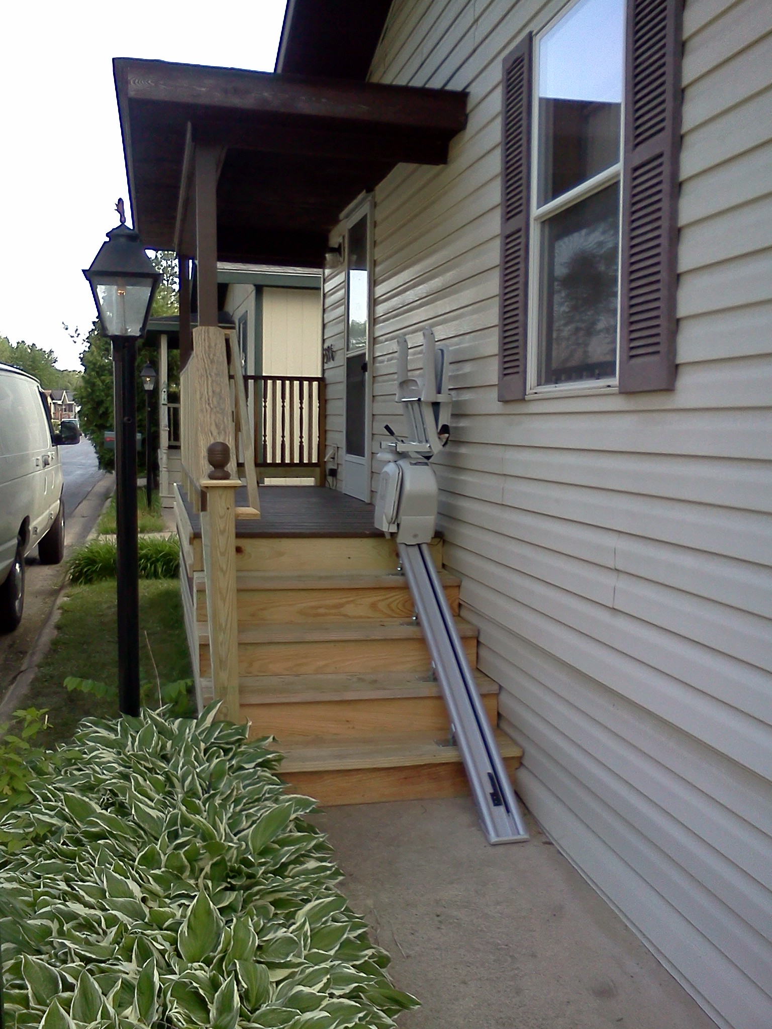Outdoor stair lift - Outdoor Stair Lift